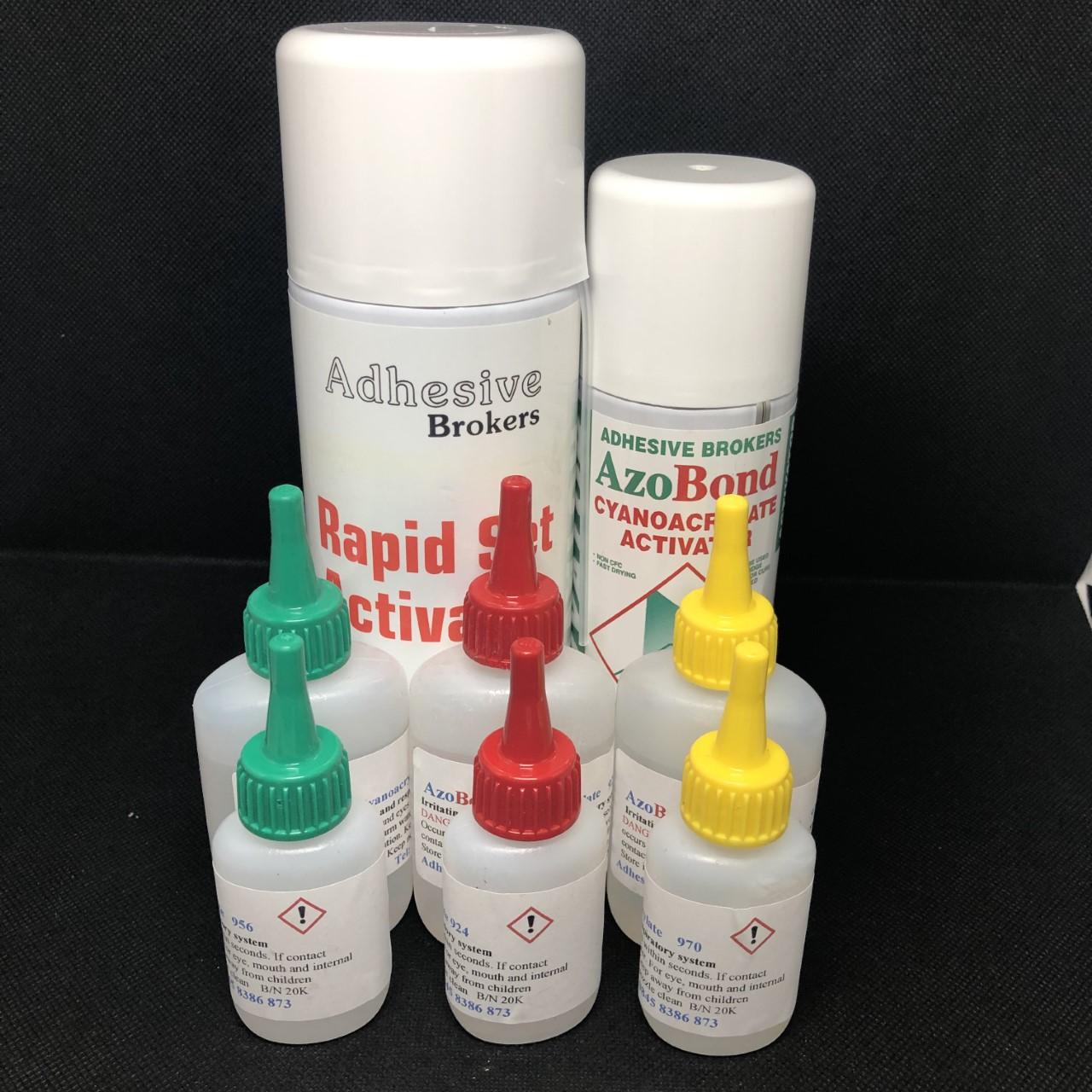 Cyanoacrylates / Super glues & Activators